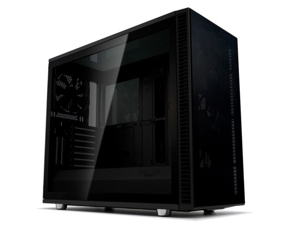 Fractal Design Obudowa Define S2 Vision Blackout Tempered Glass