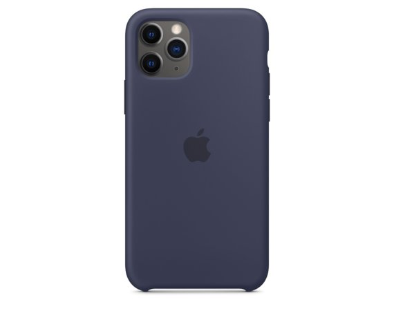 Apple Silikonowe etui do iPhone 11 Pro Max - nocny błękit