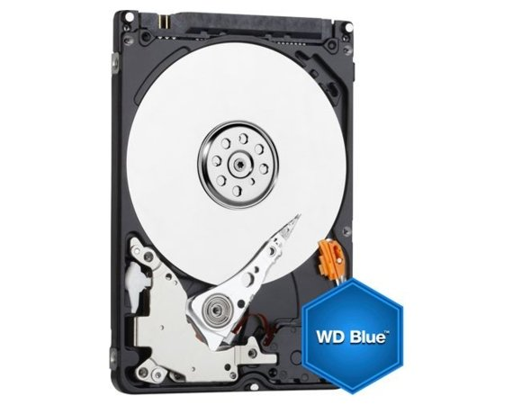 Western Digital Blue 500GB 2,5'' 16MB SATAIII/5400rpm