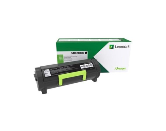 Lexmark MS/MX3/4/5/617 Return Black CRTG 51B2000