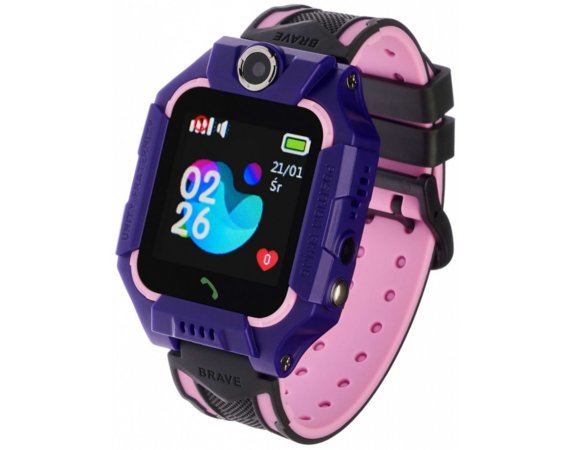 Smartwatch Kids Play Fioletowy