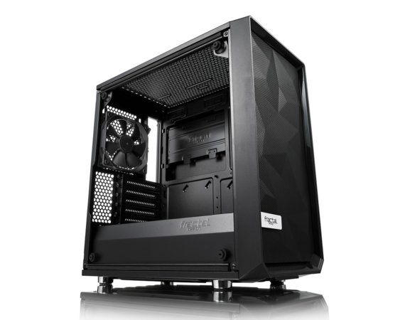 Fractal Design Obudowa Meshify MINI C Blackout Tempered Glass