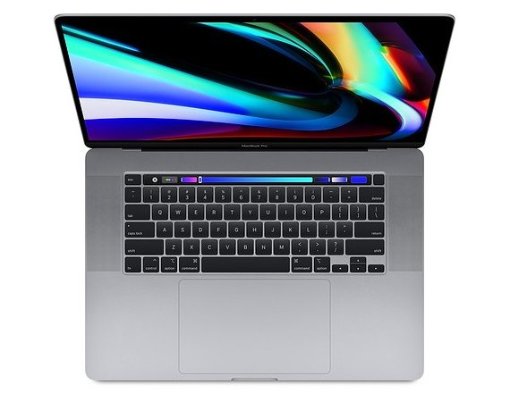 Apple MacBook Pro 16 Touch Bar i9 2.3GHZ/16GB/RP5500M(4GB)/4TB Space Gray