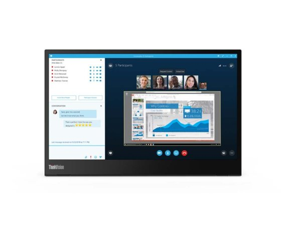 Lenovo Monitor 14 ThinkVision M14 WLED LCD 61DDUAT6EU