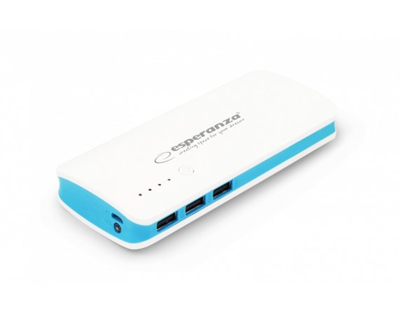 Esperanza POWER BANK RADIUM 8000mAh niebieski