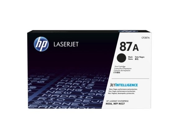 HP Inc. Toner 87A Black 9K CF287A
