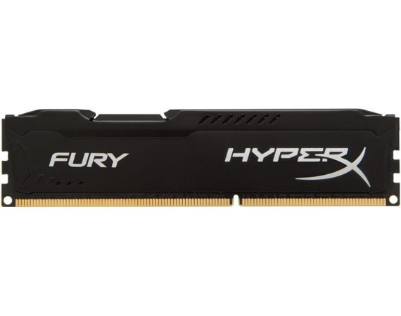 HyperX DDR3  Fury  4GB/ 1600 CL10 BLACK