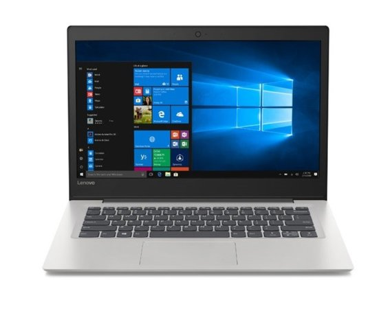 Lenovo Notebook IdeaPad S130-14IGM 81J2007BPB W10Home N5000/4GB/128GB/INT/14.0 Mineral grey/2YRS CI