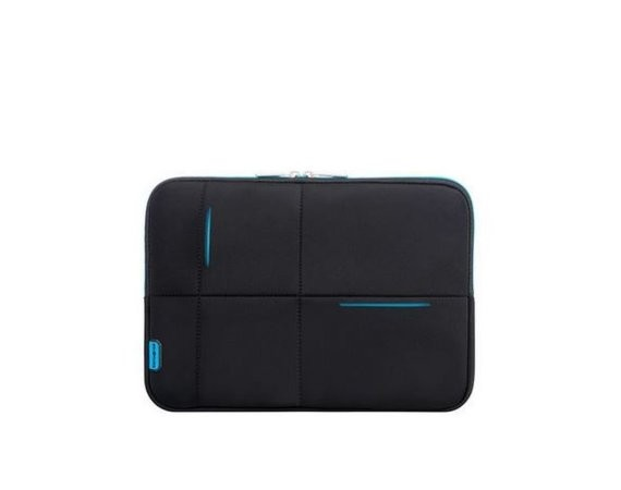 "Samsonite AIRGLOW SLEEVES LAPTOP SLEEVE NEW 14.1"" CZARNY/NIEBIESKI"