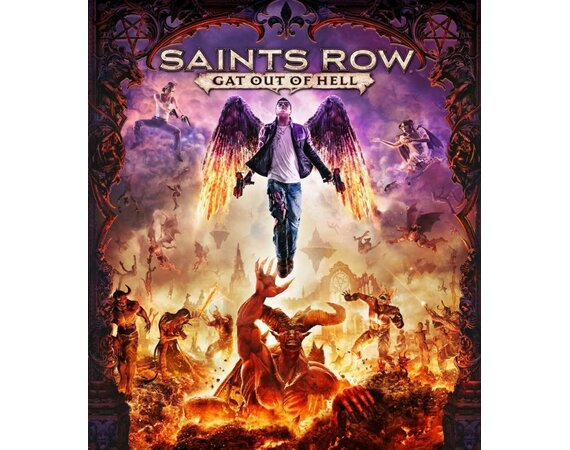 Cenega Saints Row: Gat Out of Hell First Edition PC