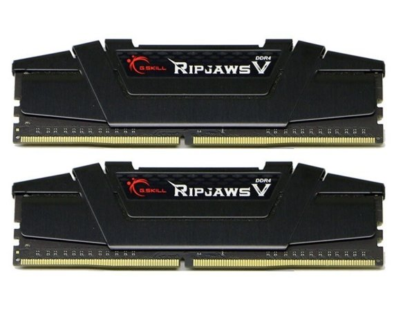 G.SKILL Pamięć do PC - DDR4 32GB (2x16GB) RipjawsV 3600MHz CL16 XMP2 Black