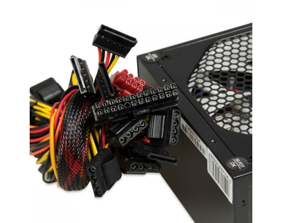 iBOX Zasilacz Aurora 700W 14 Fan gaming BOX