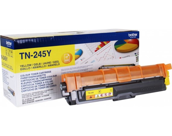 Brother Toner TN245Y YELL 2,2k do HL 3140, DCP-9020CDW