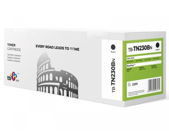 TB Print Toner do Brother TN230B BK 100% nowy TB-TN230BN
