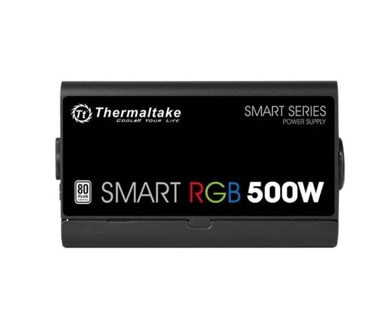 Thermaltake Smart 500W RGB (80+ 230V EU, 2xPEG, 120mm, Single Rail)