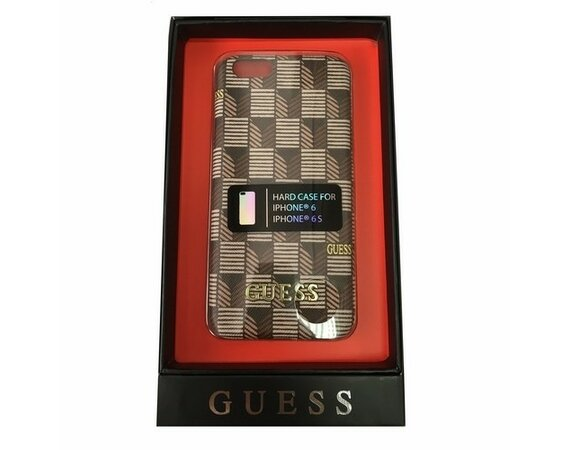 GUESS Hardcase GUHCP6JSBR iPhone 6/6S brązowy Jet Set