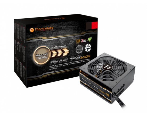 Thermaltake Zasilacz Smart SE2 600W Modular (spr. 87%, Single Rail)