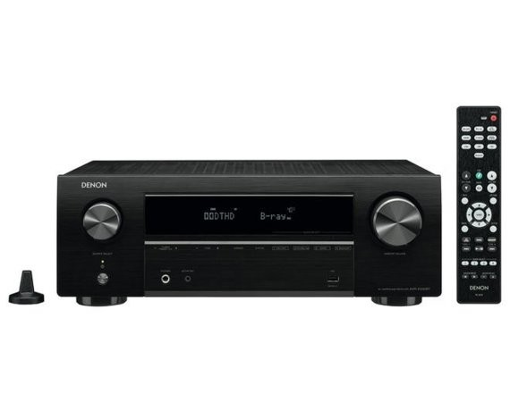 DENON Amplituner AVR-X550BT + Wils on Cinematic Orzech