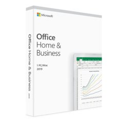 Microsoft Office Home & Business 2019 ENG Box Win/Mac 32/64bit T5D-03216. Zastępuje P/N: T5D-02826