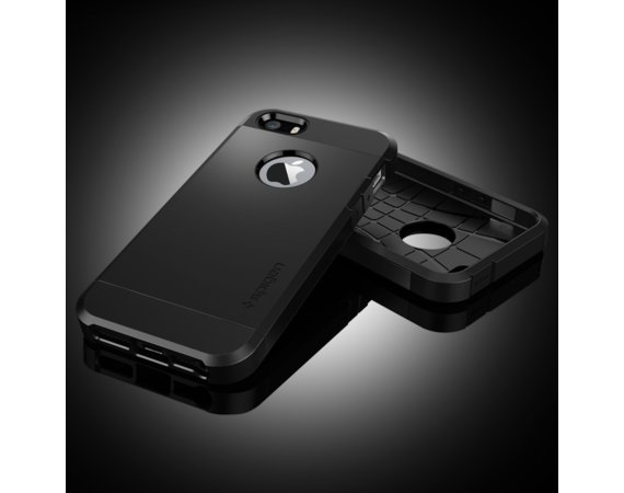 SPIGEN SGP  Tough Armor Black Etui iPhone 5/5s/SE