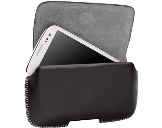 Krusell Hector Case Universal 5XL Black (np. do: APPLE iPone 6 Plus)