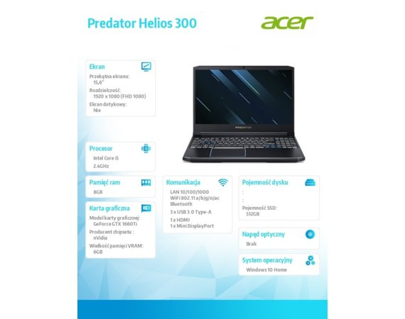 Acer Notebook Nitro 5 NH.Q53EP.025