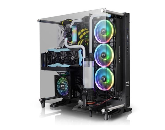 Thermaltake Obudowa Core P5 Tempered Glass - Black