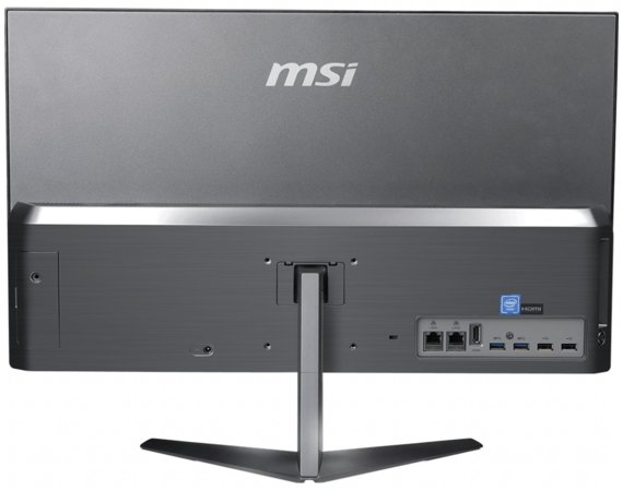 MSI Komputer All in One PRO 24X 10M-044EU WIN10PR0/Pentium 6405U/4GB/64SSD/UMA/WiFi/USB/HDMI/RJ45/Głośniki/Silver/23.8