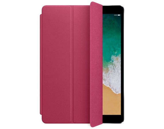 Apple Leather Smart Cover for 10.5 inch iPad Pro - Pink Fuchsia