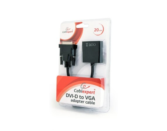 Gembird Adapter DVI-D do VGA żeński