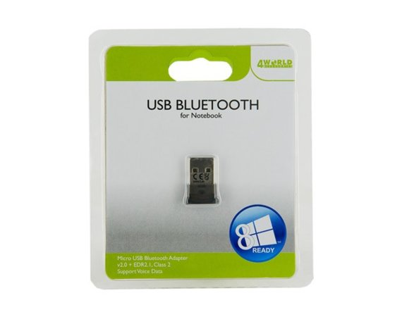 4world Bluetooth MICRO USB adapter v2.1 + EDR 2.1 (3Mb/s)