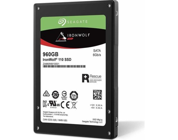Seagate Dysk IronWolf SSD 960GB ZA960NM10011