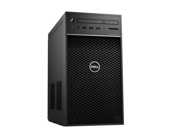 Dell Stacja robocza Precision  T3630 MT E-2124G/8GB/256GB/Intel UHD/DVD RW/W10Pro/KB216/MS116/vPRO/3Y NBD