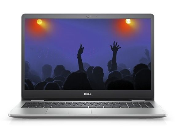 "Dell Notebook Inspiron 5593 Win10Pro i5-1035G1/SSD256GB/4GB/Intel HD/15.6""FHD/Silver/Backlit Kb/42WHR/2Y NBD"