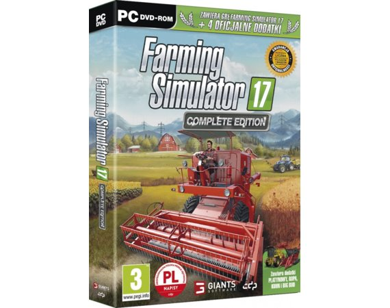 CD Projekt Gra PC Farming Simulator 2017complete edition