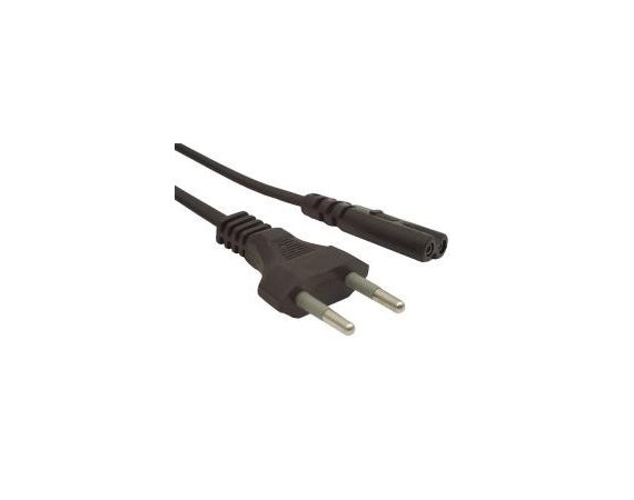 Gembird Kabel zasilajacy do notebooka C8 2pin 1.8M VDE