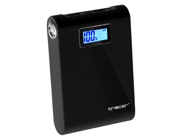Tracer Mobile battery 10400 mAh czarny