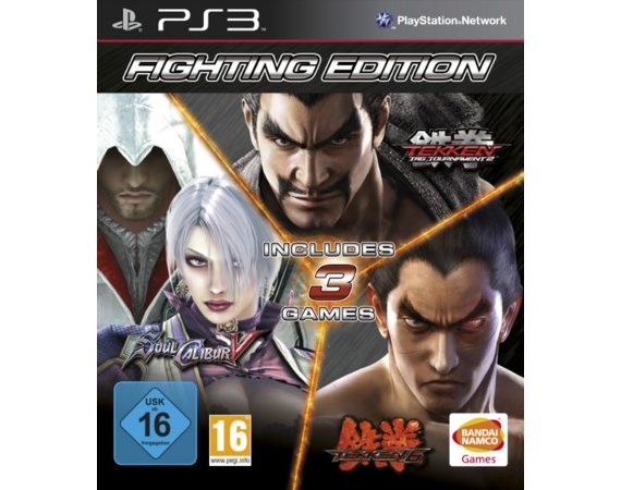 Cenega Fighting Edition PS3: Tekken 6, Tekken Tag Tournament 2, Soul Calibur V