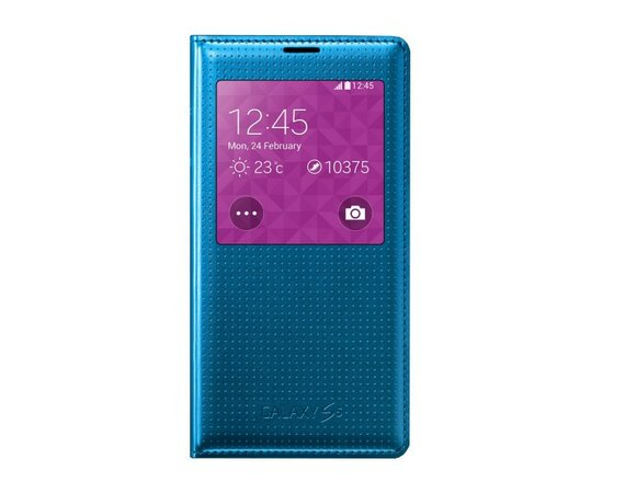 Samsung S-View Cover Galaxy S5 electric blue