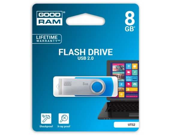 GOODRAM TWISTER 8GB Blue USB2.0