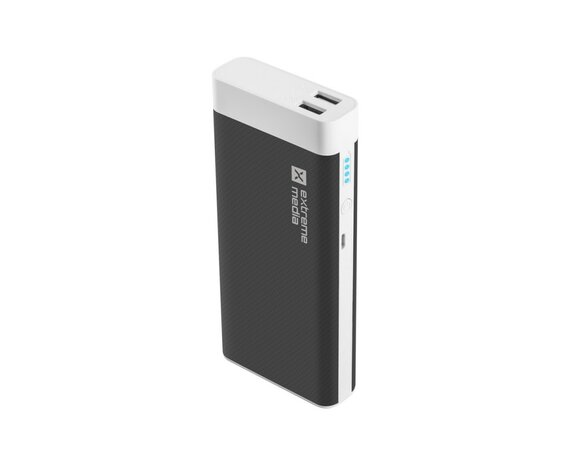 NATEC Power Bank EXTREME MEDIA 10000mAh czarno-biały