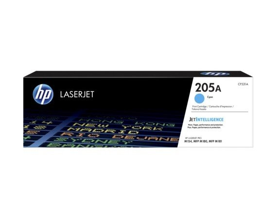 HP Inc. 205A Cyan Toner Cartridge CF531A