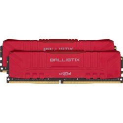 Crucial Pamięć DDR4 Ballistix 16/3200 (2*8GB) CL16 RED