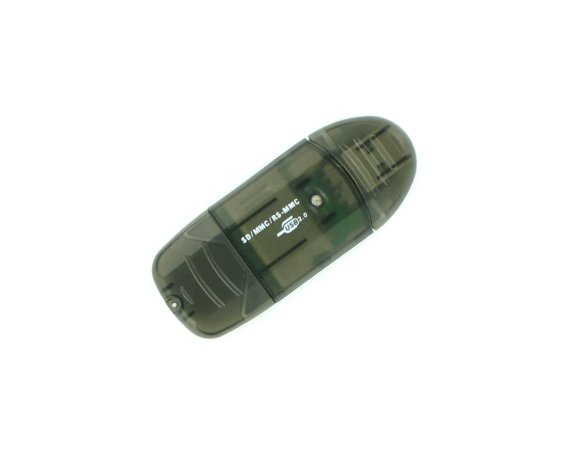 4world Czytnik kart pendrive SD/miniSD/MMC/T-Flash        03355