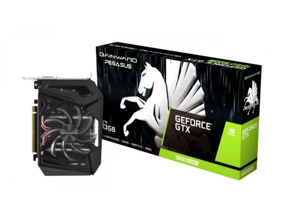 Gainward Karta graficzna GeForce GTX 1660SUPER PEGASUS 6GB GDDR6 192BIT HDMI/DP/DVI-D