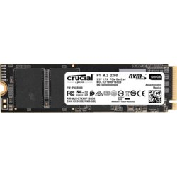 Crucial Dysk SSD P1 1000GB M.2 PCIe NVMe 2280 2000/1700MB/s