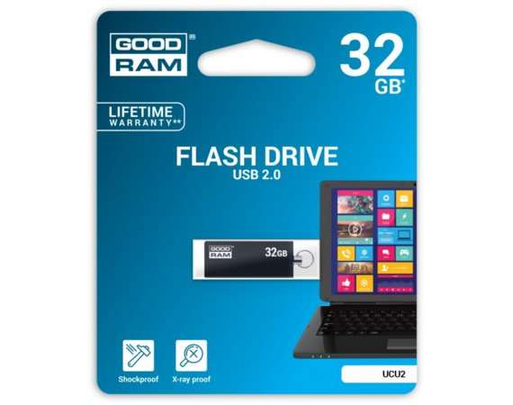 GOODRAM CUBE 32GB USB2 BLACK