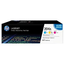 HP Inc. Toner 304A CP2025 3-Pack CMY CF372AM