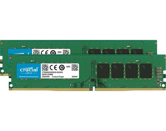 Crucial DDR4 16GB/2400(2*8GB) CL17 DR x8