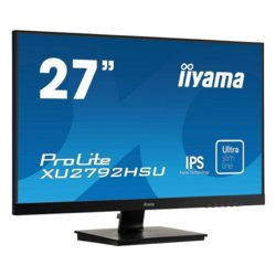 IIYAMA Monitor 27 cali XU2792HSU-B1 IPS,Full HD,HDMI,DP,VGA,USB,SLIM